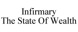 mark for INFIRMARY THE STATE OF WEALTH, trademark #85609922