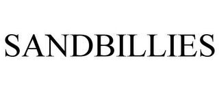 mark for SANDBILLIES, trademark #85609952