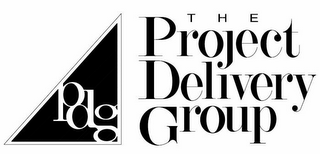 mark for PDG THE PROJECT DELIVERY GROUP, trademark #85610089