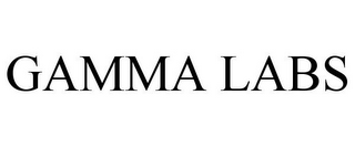 mark for GAMMA LABS, trademark #85610262