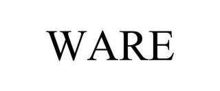 mark for WARE, trademark #85610319