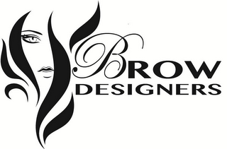 mark for BROW DESIGNERS, trademark #85610329
