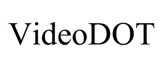 mark for VIDEODOT, trademark #85610603