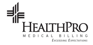 mark for HEALTHPRO MEDICAL BILLING EXCEEDING EXPECTATIONS, trademark #85610646