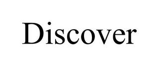 mark for DISCOVER, trademark #85610741