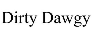 mark for DIRTY DAWGY, trademark #85610963