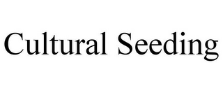 mark for CULTURAL SEEDING, trademark #85611159