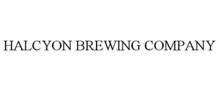 mark for HALCYON BREWING COMPANY, trademark #85611266