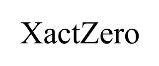 mark for XACTZERO, trademark #85611338