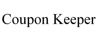 mark for COUPON KEEPER, trademark #85611416