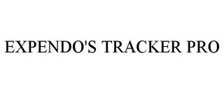 mark for EXPENDO'S TRACKER PRO, trademark #85611514