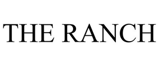 mark for THE RANCH, trademark #85611656