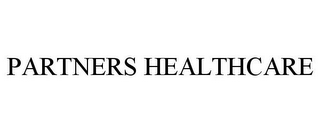 mark for PARTNERS HEALTHCARE, trademark #85611727