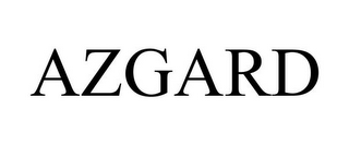 mark for AZGARD, trademark #85612172
