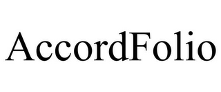 mark for ACCORDFOLIO, trademark #85612793