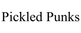 mark for PICKLED PUNKS, trademark #85612937