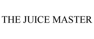 mark for THE JUICE MASTER, trademark #85613092