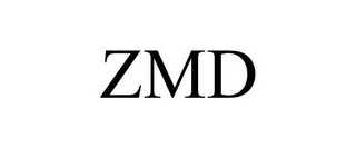 mark for ZMD, trademark #85613118