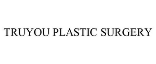 mark for TRUYOU PLASTIC SURGERY, trademark #85613203