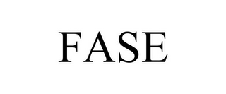 mark for FASE, trademark #85613350