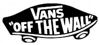 "mark for VANS ""OFF THE WALL"", trademark #85613461"
