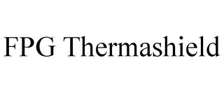 mark for FPG THERMASHIELD, trademark #85613821