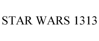 mark for STAR WARS 1313, trademark #85613835