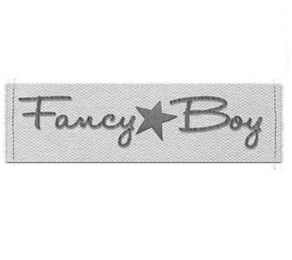 mark for FANCY BOY, trademark #85613861