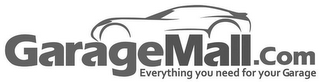 mark for GARAGEMALL.COM EVERYTHING YOU NEED FOR YOUR GARAGE, trademark #85613901