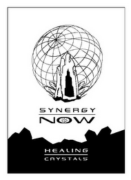 mark for SYNERGY NOW HEALING CRYSTALS, trademark #85613906