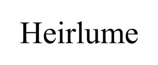 mark for HEIRLUME, trademark #85613985
