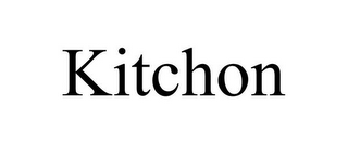 mark for KITCHON, trademark #85614152