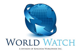mark for WORLD WATCH A DIVISION OF KINGDOM WORLDWIDE INC., trademark #85614297