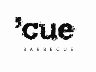 mark for 'CUE BARBECUE, trademark #85614448