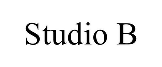 mark for STUDIO B, trademark #85614938