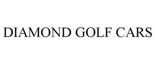 mark for DIAMOND GOLF CARS, trademark #85615200