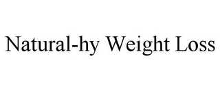 mark for NATURAL-HY WEIGHT LOSS, trademark #85615391