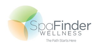 mark for SPAFINDER WELLNESS THE PATH STARTS HERE, trademark #85615435