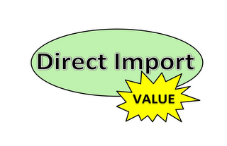 mark for DIRECT IMPORT VALUE, trademark #85615462