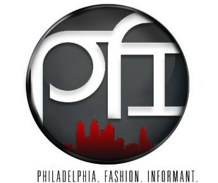 mark for PFI PHILADELPHIA. FASHION. INFORMANT, trademark #85615569