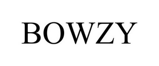 mark for BOWZY, trademark #85615583