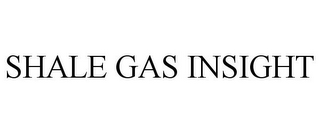 mark for SHALE GAS INSIGHT, trademark #85615724