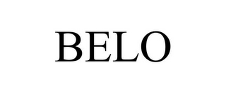 mark for BELO, trademark #85615813