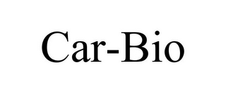 mark for CAR-BIO, trademark #85615972
