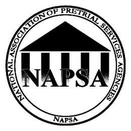 mark for NATIONAL ASSOCIATION OF PRETRIAL SERVICES AGENCIES NAPSA NAPSA, trademark #85616256