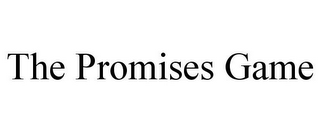 mark for THE PROMISES GAME, trademark #85616469