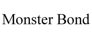 mark for MONSTER BOND, trademark #85616514