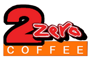 mark for 2 ZERO COFFEE, trademark #85616517