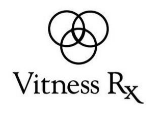 mark for V VITNESS RX, trademark #85617251