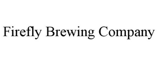 mark for FIREFLY BREWING COMPANY, trademark #85617337